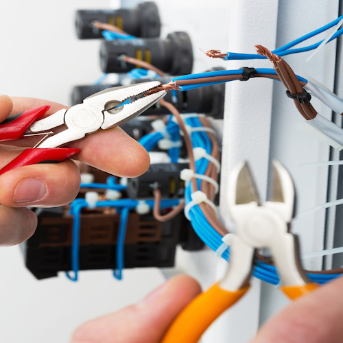 D P Solutions specialise in consumer unit replacement in Mereside