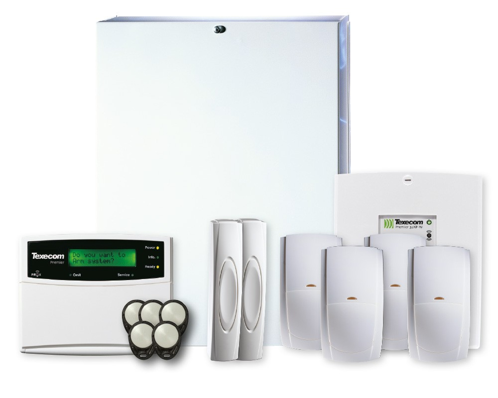 D P Solutions stock and install a wide range of burglar alarms in Hardhorn